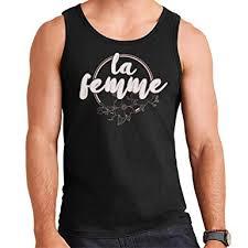 Coto7 French Slogan La Femme Mens Vest Amazon Com