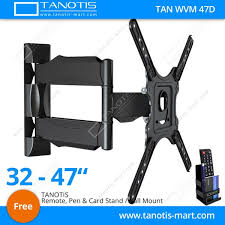 Tv wall mouns Tvs Lazada Philippines Tanotis Imported Way Swivel Tilt Tv Wall Mount For Lcdled Tvs Upto