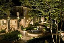 landscape lighting design. lighting installation landscape design