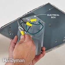 fix a noisy bathroom fan the family handyman photo 6 connect the wires
