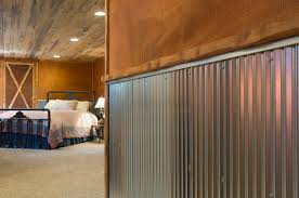 Corrugated Metal Interior Design Corrugated Metal For Interior Walls Wainscot 1 1 4 Corrugated