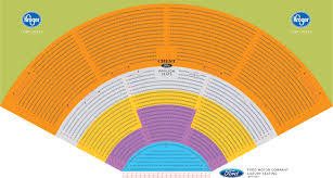 Midflorida Credit Union Amphitheatre Seating Chart With Seat Numbers 41 Curious Dte Music Theater Seating Chart With Seat Numbers