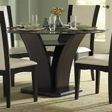 architecture amazing round espresso dining table 14 matte hilale furniture room sets 4142dtbc 64 1000 espresso