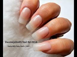real but not real nails see how gel go for natural