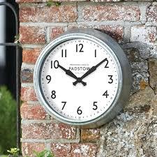 large outdoor garden wall clock decorative outdoor clock garden wall thermometer wall clock with thermometer outdoor large outdoor garden wall clock