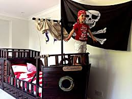 custom made pirate ship adventure bed