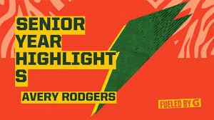Senior Year Highlights - Avery Rodgers highlights - Hudl
