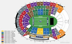 La Memorial Coliseum Seating Chart