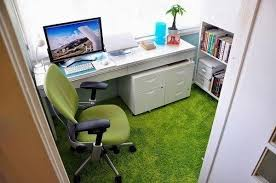 computer office design. compact home office design on small balcony computer