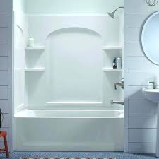 Bathtub enclosure ideas Intended Bathtub Surrounds Enviable Bathtub Surround Ideas Hunker Sterling Ensemble White Bathtub Wall Surround Bathroom Tub Sushicafeinfo Bathtub Surrounds Enviable Bathtub Surround Ideas Hunker Sterling