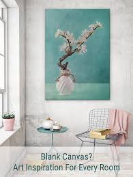 blank canvas art inspiration for every room