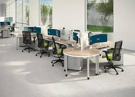 office workstation designs. 120-Degree Workstation \u2014 The Blade Workstations Are Ideal Office For Open Offices But Still Offer Some Privacy. Designs