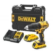 drills power tools screwfix europe screwfix eu dewalt dcd778d2t gb 18v 2 0ah li ion xr brushless cordless combi drill new