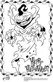 Small Picture Lovely Halloween Coloring Pages Online Scary 28 mosatt