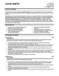 entry level flight attendant resume sample ...