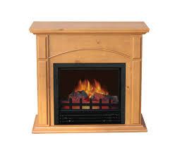 comfort glow the springdale electric fireplace light oak ef4534kd