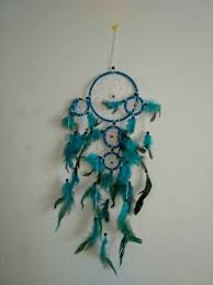 handmade dream catcher with feathers car or wall hanging decoration