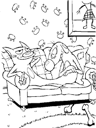 Small Picture Catdog Coloring Pages 26cbe76a7a2657975aff1ac51ccda83fgif