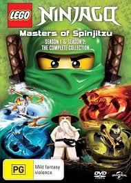 LEGO Ninjago - Masters of Spinjitzu: Series 1-2 | Boxset - DVD Region 4  Free Shi