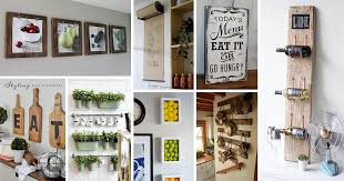 20 gorgeous kitchen wall decor ideas to