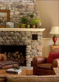 best 25 river rock fireplaces ideas on rock