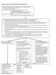 Infant Nutrition Chart Maternity Care Infant Nutrition Algorithm Ppt Download