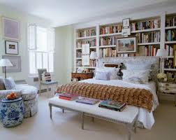 Bedroom: Stylish Library Bedroom Decoration - Bedroom Library Ideas