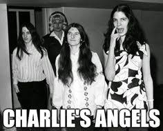 Image result for 1969, Manson, Susan Atkins, Leslie Van Houten, and Patricia Krenwinkel, under the direction of Manson, broke into Tate's Beverly Hills home