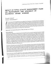 research article on tqm dissertation report on total quality management slideshare tqm research methodology jpg