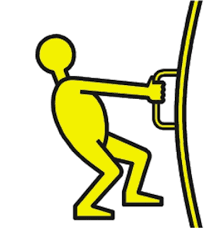 push or pull new pictograms make it