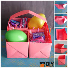 last minute paper best office resume templates gma tory johnson  this easy paper easter basket is perfect for last minute