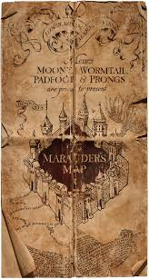 marauder's map  harry potter wiki  fandom powered by wikia