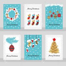 ✓ gratis para uso comercial ✓ imágenes de gran calidad. Set Of Six Merry Christmas Cards Vector Illustration Royalty Free Cliparts Vectors And Stock Illustration Image 83998292
