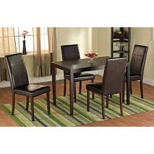 dining chairs faux leather. faux leather parson dining chair, set of 2 chairs