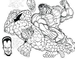 Hulk Coloring Pages To Print Free Printable Incredible The