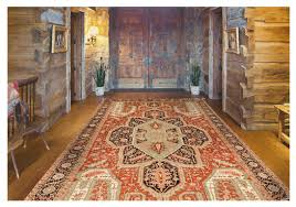 preserving the look of an antique rug