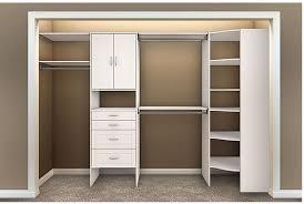 closet storage shelves unit