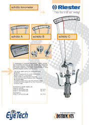 Reister Schiotz Tonometer For Hospital Three Instruments