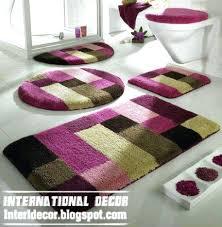 grey bath mat set bathroom rug sets modern bathroom rug sets baths rug sets models colors