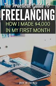 how i made over in my first month on elance upwork bren  ready to start your lance career this in depth guide shows you real proposals