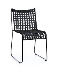 woven metal furniture. inout metal chair seat in woven rope for indoor and outdoor furniture