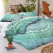 indian mandala beautiful design duvet cover queen size duvet cover comforter set bedding set cotton quilt