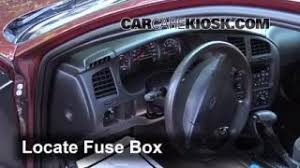 interior fuse box location 2000 2005 chevrolet monte carlo 2002 2000 2005 chevrolet monte carlo interior fuse check