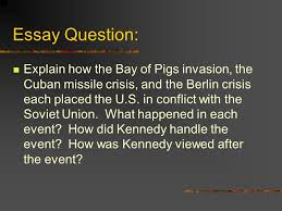what political change did fidel castro undergo  22 essay question explain how the bay of pigs