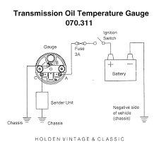 wiring diagrams for classic car parts from holden vintage transmission oil temperature