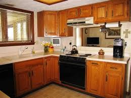 kitchen color ideas with oak cabinets and black appliances. Exellent Ideas Kitchen  Color Ideas With Oak Cabinets And Black Appliances  Wainscoting Closet Beach Inside
