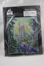 Disney World Size Chart This Is The Walt Disney World Cross Stitch Set Featuring