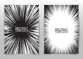 Business Brochure Flyer Design Template Radial Speed Abstract