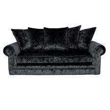 crushed velvet furniture sofas beds
