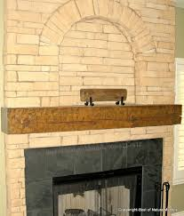 antique wood fireplace mantel carken az